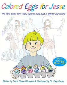 Colored Eggs for Jesse - Children's story book